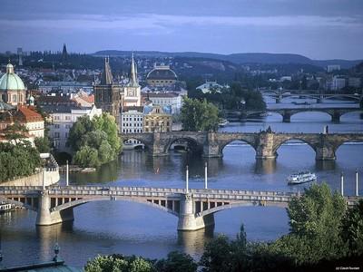 Прага, Чехия, Карлов мост